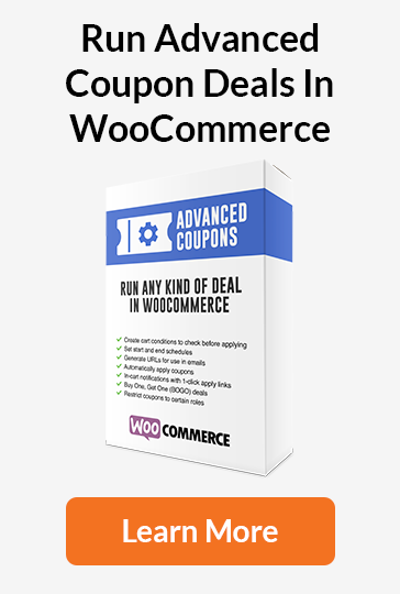 Advanced Coupons - Run Advanced Coupon Deals In WooCommerce