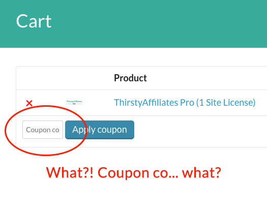 Increase Size Of Coupon Code Box On Cart Page