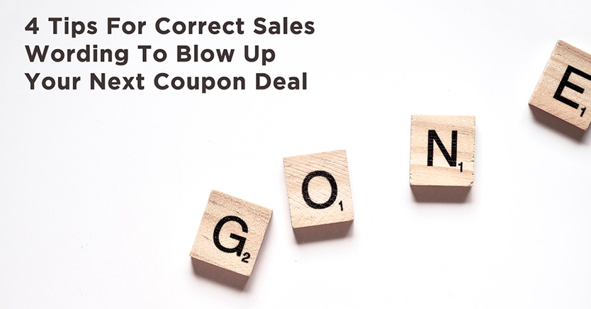 sales wording