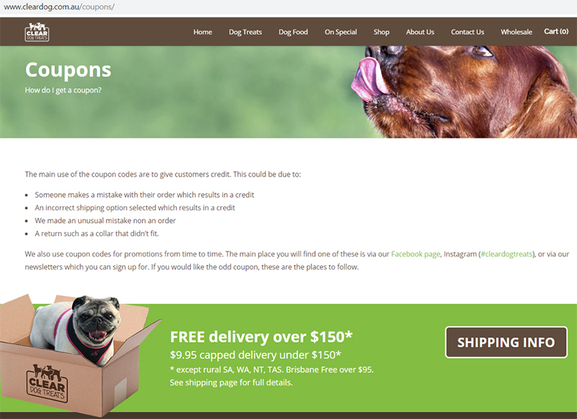 craft coupon page cleardog
