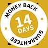 Money Back Guarantee 14 days