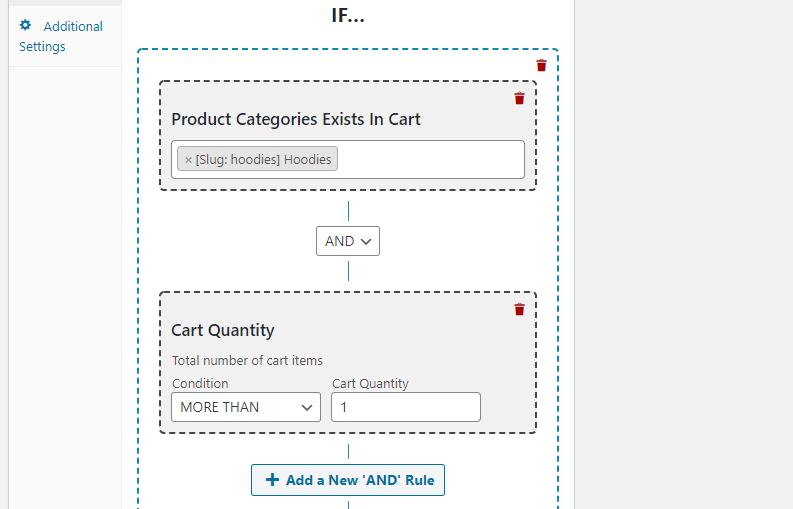 Creating a coupon that works for purchases over one item.